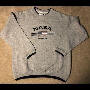 Vintage NASA Space Center Crewneck XL